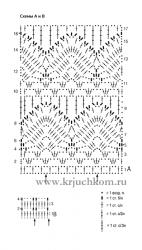 летние кофточки крючком со схемами