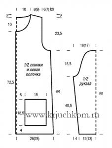 Схемы вязания крючком с описанием