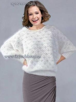 женский пуловер зима 2015-2016