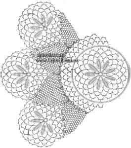 Красивые салфетки крючком схемы