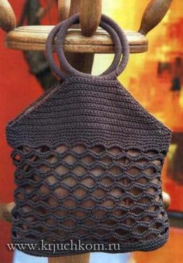 сумки крючком схемы