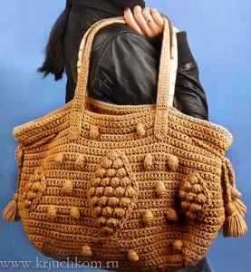 Вместительная сумка своими руками