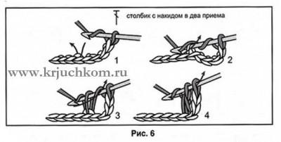 Вязание крючком для начинающих петли и схемы