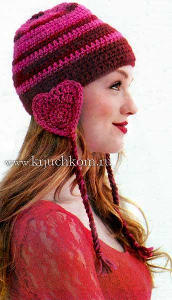 Вязаные молодежные шапки 2014