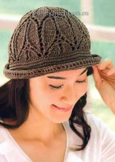 Как связать шапку крючком