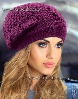 Модная женская шапка 2015