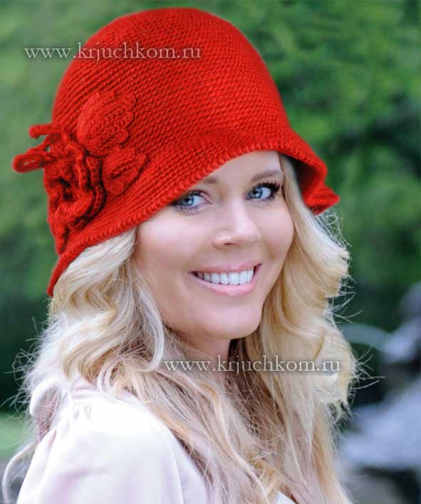 Вязание крючком шляпки