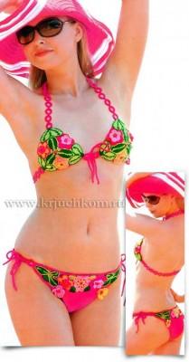 krasivyj-kupalnik Купальник спицами, 21 модель со схемами и описанием, Вязание для женщин