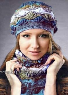 vjazanyj-beret-i-baktus-3 Поиск на Постиле: модные шапки крючком